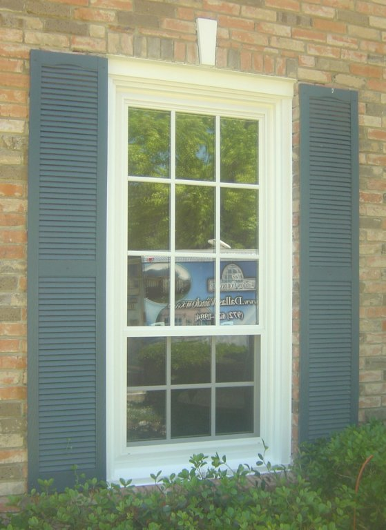 Alside Vinyl Ultra Max Windows With Simulated Divided Lite