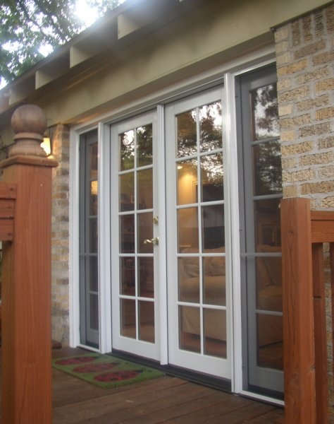 Clic Clad French Door With Operating Sidelites And