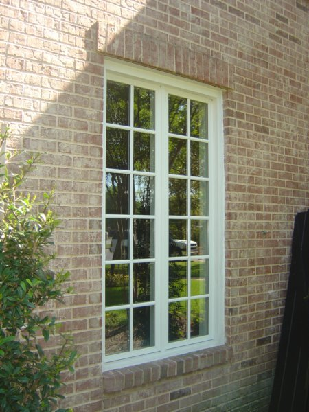 JeldwenWood Casement Windows in Dallas Texas.