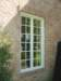 Simulated Divided Lite Grids on Wood Windows in Southlake Texas