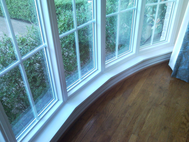 Bow Windows as a vinyl window replacement in Dallas Texas