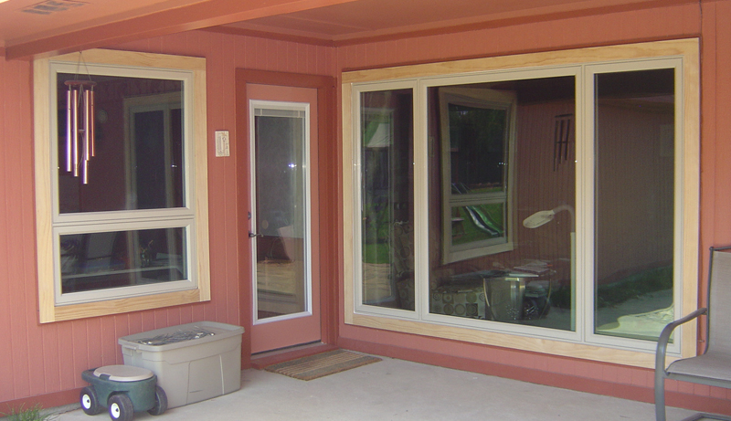 Awning Style Windows are the horizontal version of a casement window.