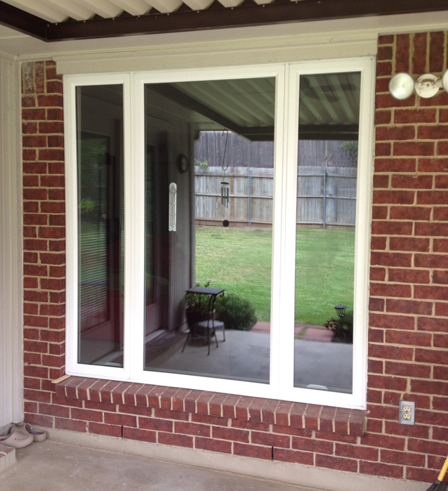 Alside Vinyl Casement Replacement Windows in Arlington bring an updated look to your home windows and remove bars that hinder the view