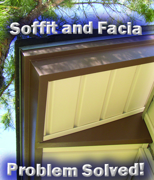 Soffit and facia in Dallas Texas from The Window Connection