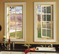 Vinyl Casement Windows with Grids