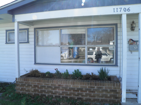 Builders Grade Aluminum windows.  These are actually original to the home.  We take great pride in updating the homes curb appeal whenever possible.