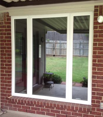 Knowing replacement window options is crucial.  This vinyl unit can be triple paned with Krypton Gas and offers an updated look that is similar to wood windows.