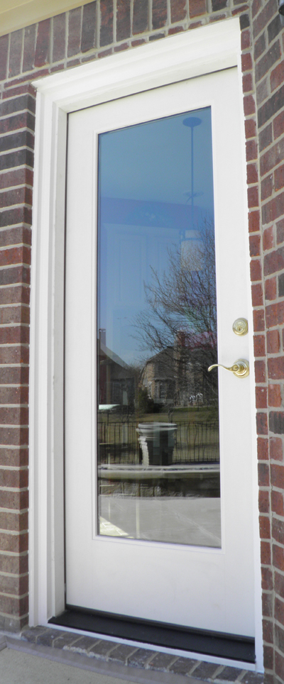 We also offer the finest exterior doors and storm doors for North Texas.  Our Airtight Doors have heat reflective glass and more glass than the typical lumber store options.
