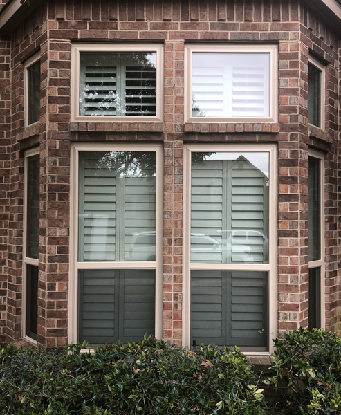 Vinyl Single Hung Windows in Coppell