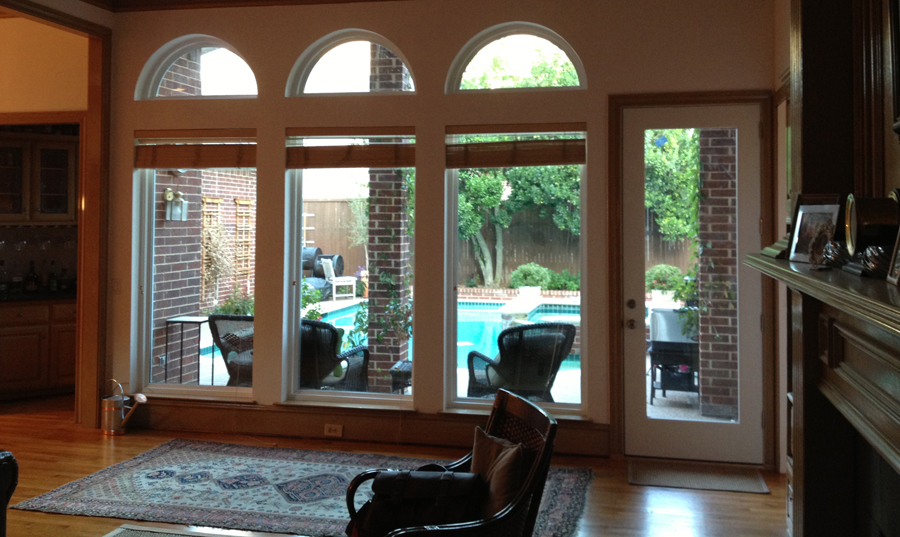 NT Window Presidential Vinyl Windows as picture windows in North Dallas