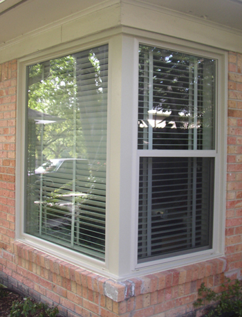 Beige vinyl windows and Tan vinyl windows are much the same but vary from window manufacturer to manufacturer