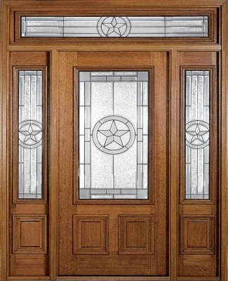 Entry Doors in Dallas take many forms and have varied materials and costs.  This wood door is made by MAI and is sold under the Pella label as it is a subsidiary of Pella Windows