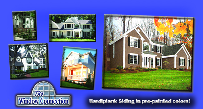 Hardiplank Siding and Vinyl Siding