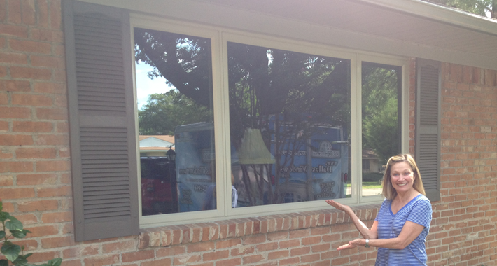 Casement replacement windows in north texas for Replacement slider windows