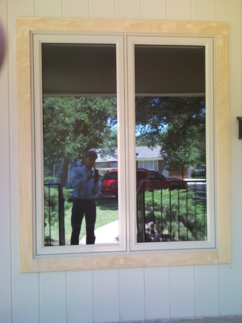 Vinyl replacement casement windows from The Window Connection - Ft. Worth Texas