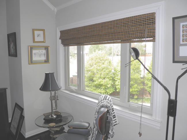 This three lite casement window is a great alternative to the standard two lite slider that we often see in North Texas.