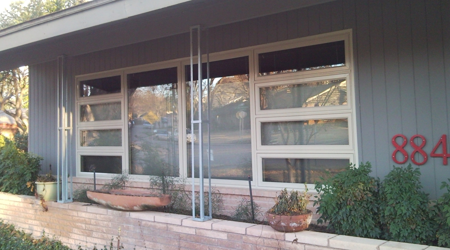 Vinyl Windows Plano Texas. Narrow Framed Vinyl Replacement Windows