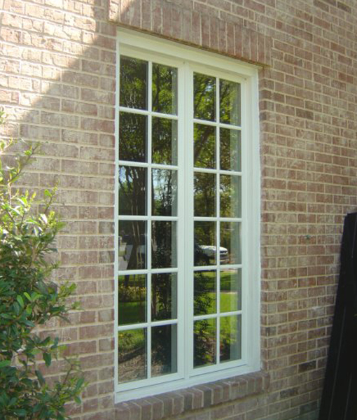 Jeldwen Wood Casement Windows provide ventilation by opening like a door with a screen on the inside.