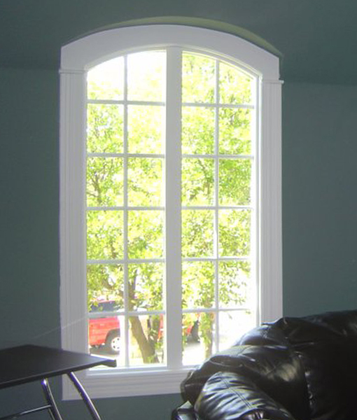 Window Installation in Southlake using wood replacement windows.