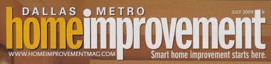 Editorial Resource Dallas Metro Home Improvement Magazine