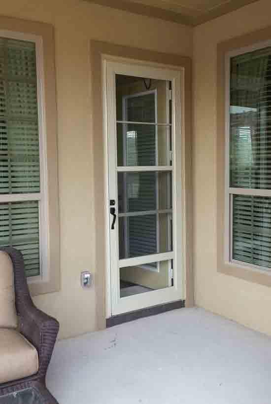 Strom doors for All glass storm door