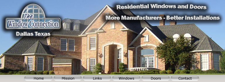 Window Connection Vinyl Single Hung Windows Dallas Texas