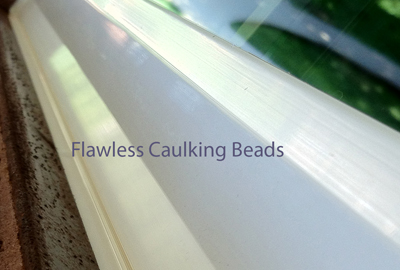 Flawless calking beads have been a signature to our award winning installations