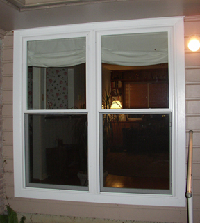 Twin Vinyl Replacement Windows in Dallas Texas