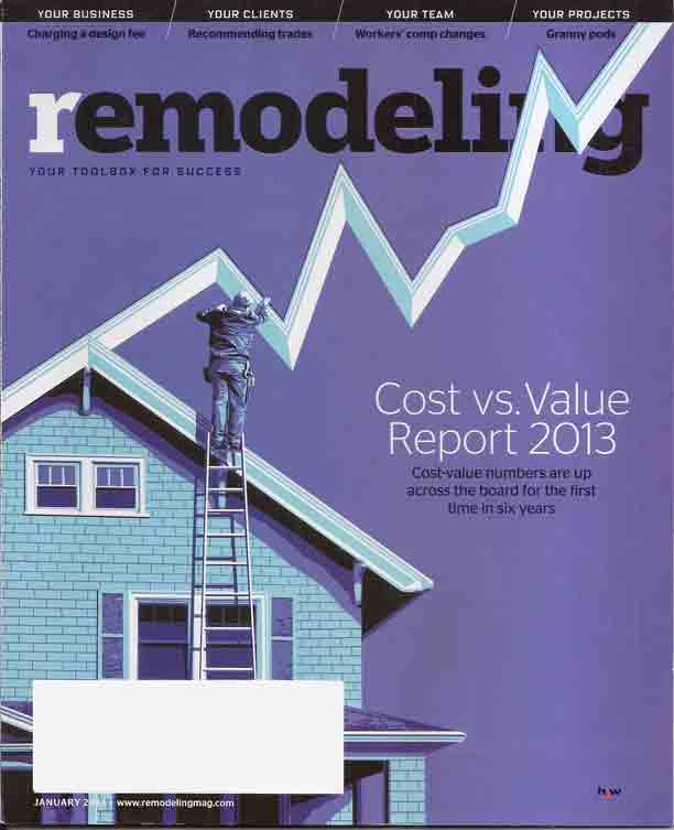 Cost vs. Value of Windows from Remodeling Magazine Magazine